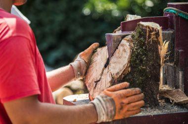 Firewood split