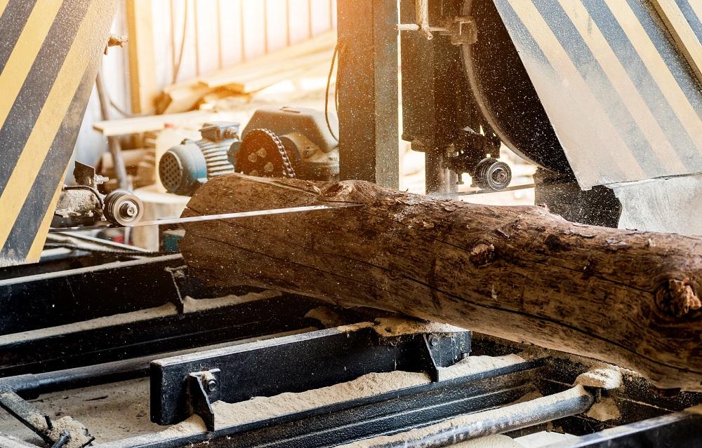 Modern sawmill